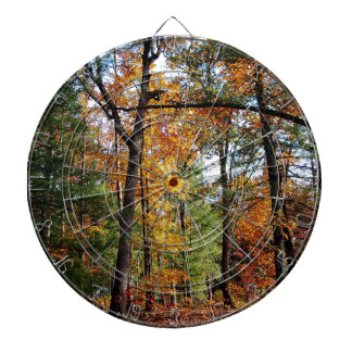 Autumn In The Forest Dartboard