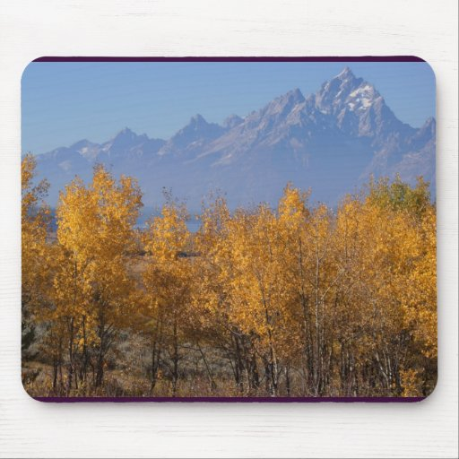 Autumn in the Grand Tetons Mousepads