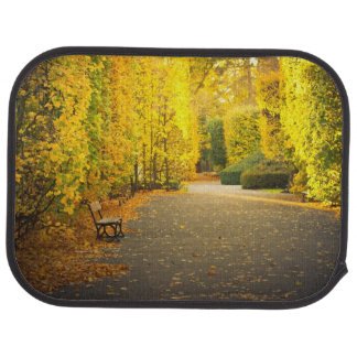 Autumn in the park in Gdansk, Poland Car Mat