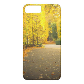 Autumn in the park in Gdansk, Poland iPhone 7 Plus Case