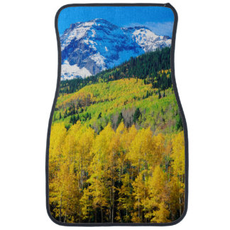 Autumn in the Rockies Car Mat
