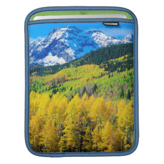 Autumn in the Rockies iPad Sleeve