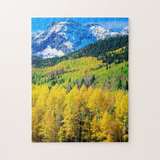 Autumn in the Rockies Jigsaw Puzzle