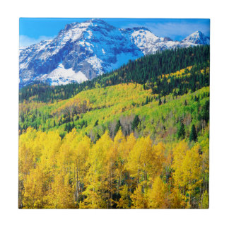 Autumn in the Rockies Tile