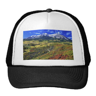 Autumn in the Rockies with Mt Sopras Mesh Hat