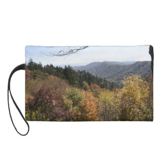 Autumn in the Smoky's Wristlet Clutches