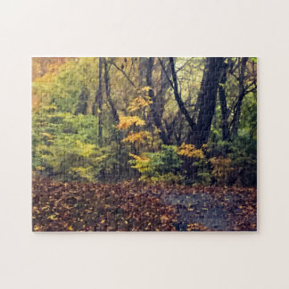 Autumn in the Woods Jigsaw Puzzle