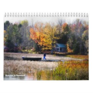 Autumn In Vermont Wall Calendars