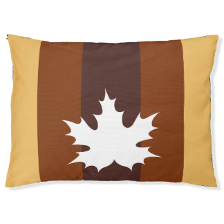 autumn inspiration pet bed