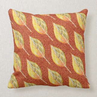 Autumn Inspired Reversible Leaves Cushion