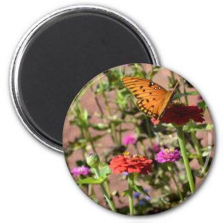 Autumn Kiss 6 Cm Round Magnet
