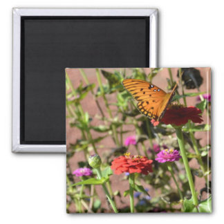 Autumn Kiss Square Magnet