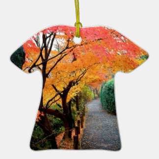 Autumn Kyoto Japan Christmas Tree Ornaments