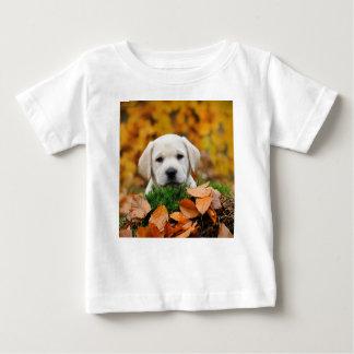 Autumn Labrador Baby T-Shirt