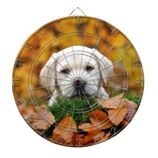 Autumn Labrador Dartboard