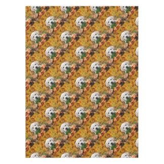 Autumn Labrador Tablecloth