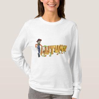Autumn Ladies T Shirt