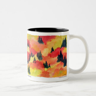 "Autumn Lake ""AUTUMN"" Coffee Mug"