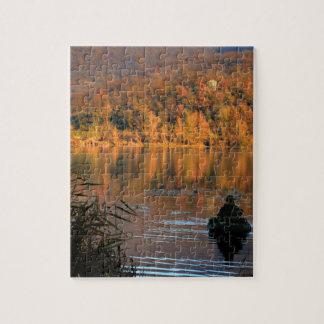 Autumn Lake Jigsaw Puzzle
