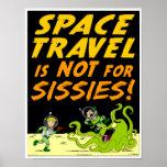 "Autumn Lake ""SPACE TRAVEL"" Poster"