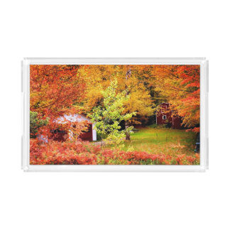 Autumn Landscape 2 Acrylic Tray