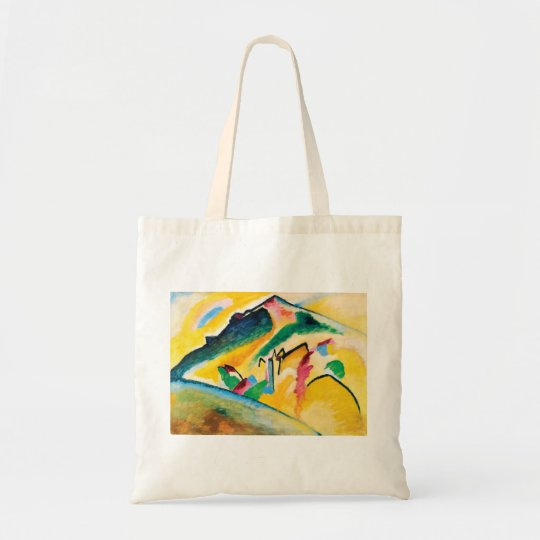 Autumn Landscape by Wassily Kandinsky Tote Bag
