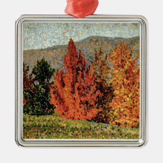Autumn Landscape, c.1903 (oil on canvas) Christmas Ornament