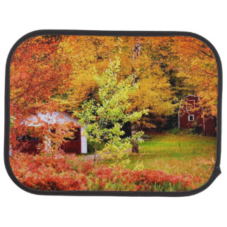 Autumn Landscape Car Mat