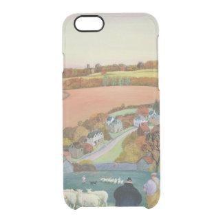 Autumn Landscape Clear iPhone 6/6S Case