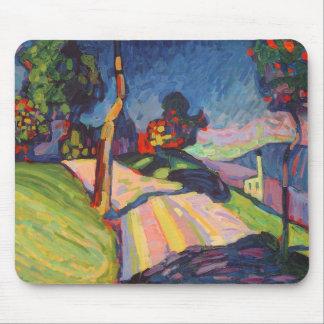 Autumn Landscape, Murnau, 1908 Mouse Mat