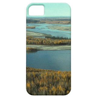 AUTUMN LANDSCAPE ON THE RIVER SURROUNDED BY TREES iPhone 5 CASES