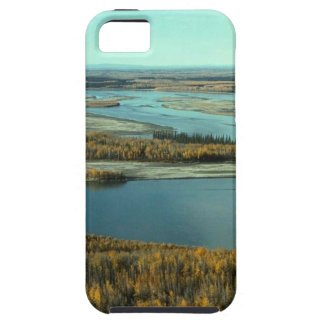 AUTUMN LANDSCAPE ON THE RIVER SURROUNDED BY TREES iPhone 5 COVER
