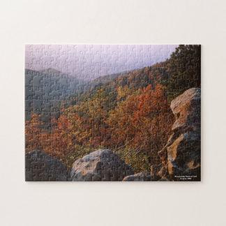 Autumn Landscape, Shenandoah National Park Jigsaw Puzzle