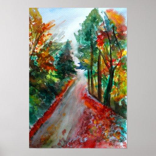 Autumn Landscape Value Poster Paper (Matte)