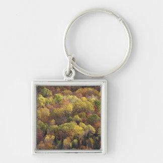 Autumn landscape, Vermont, USA 2 Key Ring