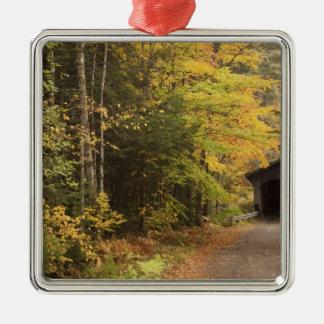 Autumn landscape, Vermont, USA 4 Christmas Ornament