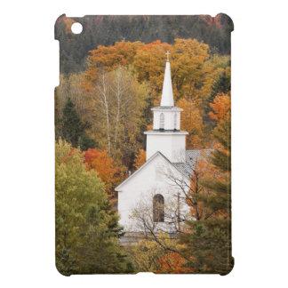 Autumn landscape with church, Vermont, USA iPad Mini Cover