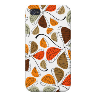 Autumn Leaf Abstract Covers For iPhone 4