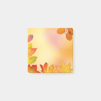 "Autumn Leaf Beauty"" x 3"" Post-it® Notes"