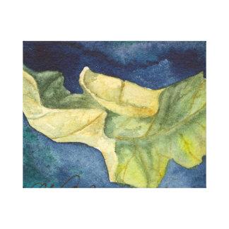 Autumn leaf Canvas Wrap Gallery Wrap Canvas