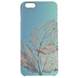 Autumn leaf clear iPhone 6 plus case