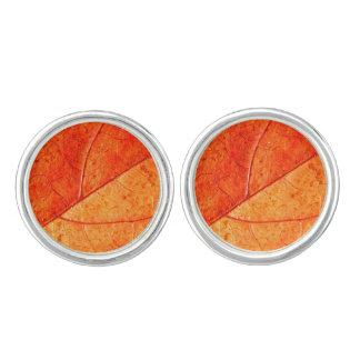 Autumn Leaf Cufflinks