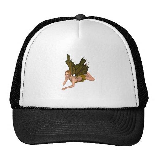 Autumn Leaf Fairy - lounging Mesh Hats