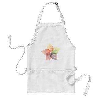 Autumn leaf flower standard apron