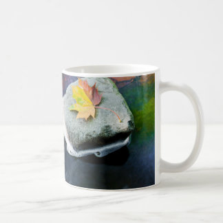 Autumn_Leaf_in_Stream Coffee Mug