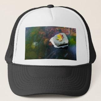 Autumn_Leaf_in_Stream Trucker Hat
