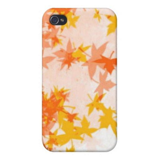 Autumn leaf  iPhone 4 cases