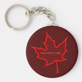 Autumn Leaf Key Ring