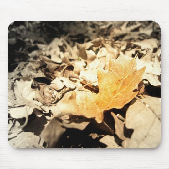 Autumn leaf mouse mat