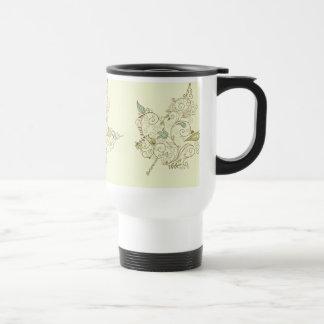 Autumn Leaf Coffee Mugs